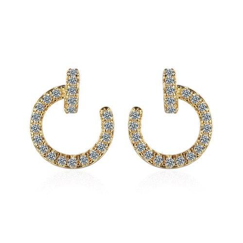 Exquisite Stud Earrings Simple Women's Small Earrings Korean Earrings Xzed893