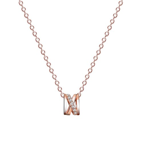 S925 Sterling Silver Small Waist Necklace Female Korean New Autumn and Winter Versatile Clavicle Chain Pendant MlA1983