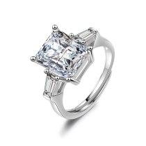 Simple Joker Flash Zirconium Diamond Ring Female Fashion Index Finger Ring Ins Tide XzJZ349