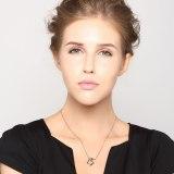 S925 Sterling Silver Jewelry Set Women's Necklace Butterfly Necklace Pendant Small Fresh Earrings Tremella Mla339