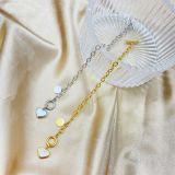 Korea Simple Fashion Love Shell Bracelet Niche Heart OT Buckle Stainless Steel Jewelry Gb1140
