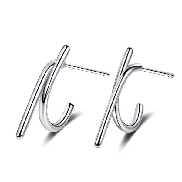 Personalized Geometric Stud Earrings New Fashion Stud Earrings Simple Women's Earrings Xzed915