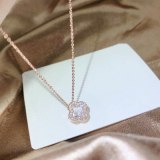 Lucky Four-Leaf Clover Necklace Clavicle Chain Necklace Women's Hot Sale Customized Women's Necklace yh X443