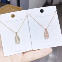 Korean Fashion Shell Necklace Female Blessing Clavicle Chain Design Necklace Jewelry Yhx399