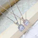 Korean Fashion Female Necklace Jewelry Joker Perfume Bottle Necklace Luxury Inlaid Zircon Clavicle Chain Pendant