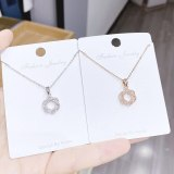 INS Fashionable Elegant All-Match Necklace Korean Clavicle Chain Pendant Holiday Gift Wholesale