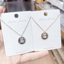 European Letter Necklace Female Creative Family Name English Letter Pinyin Clavicle Chain Pendant Jewelry Wholesale