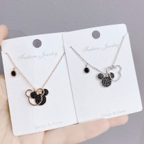 Mouse Necklace Japanese and Korean New All-Match Mori Girl Clavicle Chain Pendant