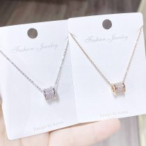 Small Waist Necklace Women's Korean-Style Simple Clavicle Chain Fashionable Temperament Pendant Necklace Women's Necklace