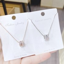 New Women's Fashion Necklace European and American Small Waist Pendant Clavicle Chain Necklace Jewelry