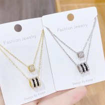 New Style Small Waist Necklace Women's Korean-Style Simple Trendy Clavicle Chain Pendant Temperament Necklace Wholesale