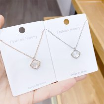 Starfish Fritillary Simple Elegant Necklace Clavicle Chain Artificial Shell Necklace Female Gift