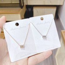 Small Waist Clavicle Chain Pendant Japanese and Korean New Girls Necklace Necklace Jewelry