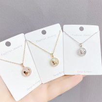 New Small Butterfly Necklace Super Fairy Sweet Flower Butterfly Pendant Clavicle Chain Jewelry