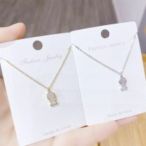 New Shell Fish Necklace Female Clavicle Chain Pendant Ins Simple Fashion Necklace