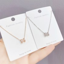 H Letter Necklace Women's All-Match European and American English Letter Accessories Clavicle Chain Pendant Ornament Wholesale