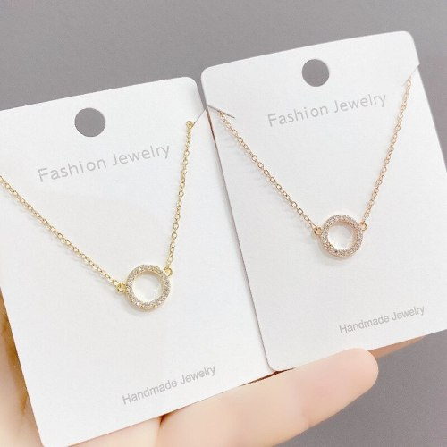 Necklace Personality Korean Simple Temperament Clavicle Chain Neck Necklace Fashion Snake Bones Chain Female Jewelry