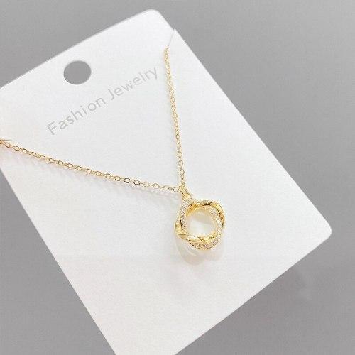 Women's Korean-Style Petal Necklace 2021 New Trendy Clavicle Necklace Elegant Personalized Pendant Neck Jewelry