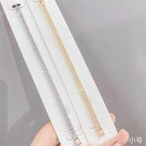 New Micro-Inlaid Zircon Full Diamond Single Row Bracelet Women's Simple Ins Trendy Women's Bracelet Ornament Wholesale 149