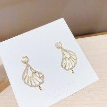 Popular Sterling Silver Needle Stud Earrings for Women Opal Earrings Internet Celebrity Personalized Drop Earrings