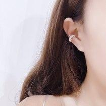 Fishtail Earrings Daily Ear Studs Online Influencer Eardrops Fashion Sweet Temperament Ear Piercing Ear Clip Earrings Women