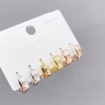 Women's Sterling Silver Needle Trendy Long Earrings Korean Retro Elegant Earrings Earrings
