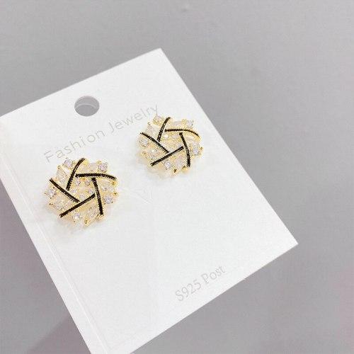 Cross Earrings Trendy Earrings Korean Graceful Online Influencer Earrings Female Ornament