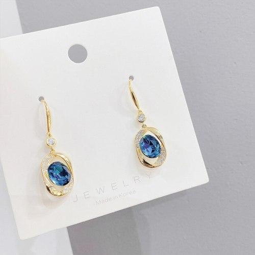 Sterling Silver Needle Stud Earrings for Women Personalized Earrings European and American Earrings Geometric Ear Rings
