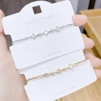 New Exquisite Light Luxury Shell Bracelet Female All-Match Adjustable Pull Bracelet Jewelry