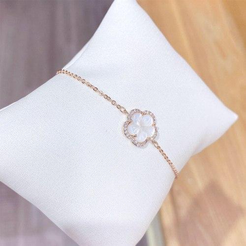 New Shell Petal Bracelet Female Korean Fashion Women's Bracelet Online Influencer Jewelry
