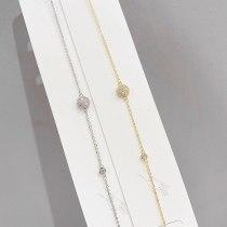 Micro-Inlaid Diamond Bracelet Women 'S New Small Exquisite Bracelet Korean Style Fashion Design Bracelet Ornament Wholesale