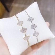 Ginkgo Leaf Bracelet Simple Personalized All-Match Student Fresh Mori Female Bracelet Ornament