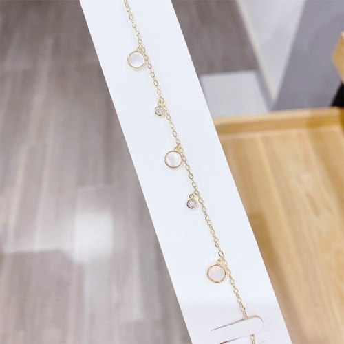 New Water Drop Shell Bracelet Female Korean Fashion Ornament Online Influencer Jewelry