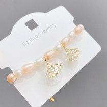 Shell Freshwater Pearl Bracelet Female Student Girlfriends Simple European and American Style Special-Interest Design Bracelet
