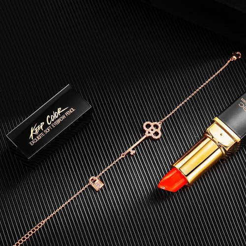 Fashion Elegant Key Lock Niche Jewelry Japanese and Korean New Girls' Bracelet Small Jewelry Wholesale