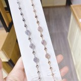 Korean Style Diamond Plated Rose Gold Simple Fashion Bracelet Girls Exquisite Bracelet Gift