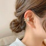 Butterfly Micro-Inlaid Ear Clip Women's Advanced Light Luxury Minority Design Non-Piercing Earrings New Fashion