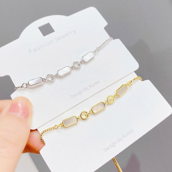Korean Style Fashion New Pull Bracelet Women's Adjustable Shell Bracelet Special-Interest Design Bracelet