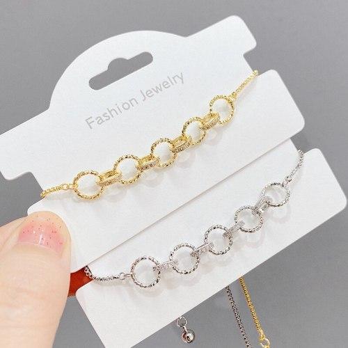 Korean Style Fashion Bracelet Fashionable All-Match Zircon Pull Adjustable Bracelet Women's Bracelet