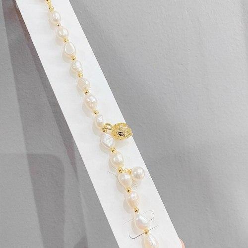 Baroque Pearl Bracelet Special-Interest Design Bracelet Women's Simple Graceful and Fashionable Bracelet Bracelet