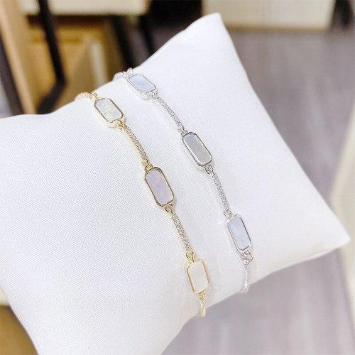 New Bracelet Korean Style Bracelet Adjustable Pull Bracelet Electroplated Real Gold Bracelet 14K Gold Bracelet Ornament