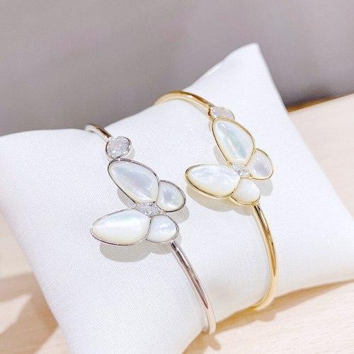 New Butterfly Bracelet for Women Fritillary Open Adjustable Bracelet Internet Celebrity Bracelet Ornament Wholesale