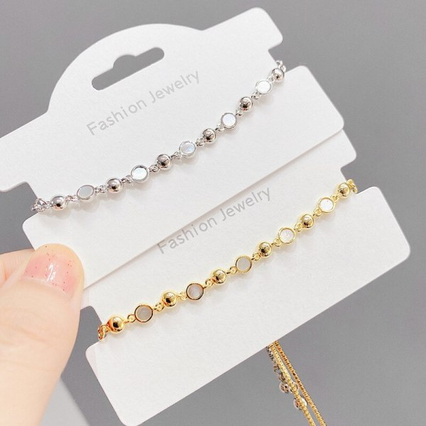 Shell Pull Bracelet New Ins Style Niche Design Bracelet Simple All Match Jewelry