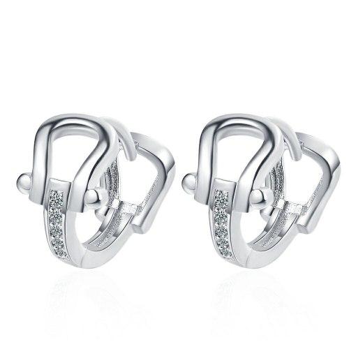 Women's Diamond Horseshoe Ear Clip Korean-Style Personalized Earrings Xzeh634