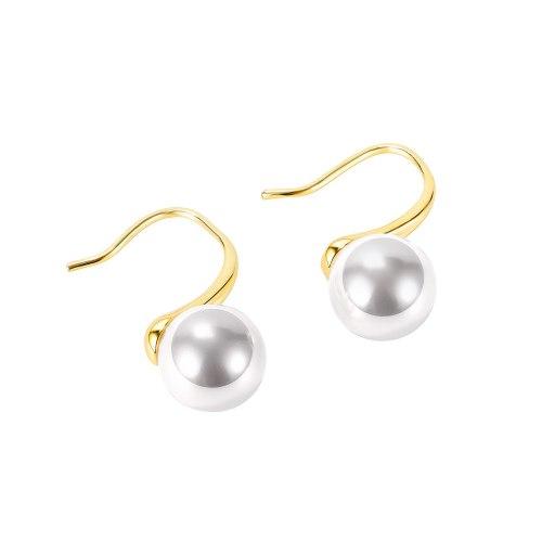 Korean Ins Personalized Tassel All-Match Earrings Fashionable Simple Elegant Pearl Earrings Gb753