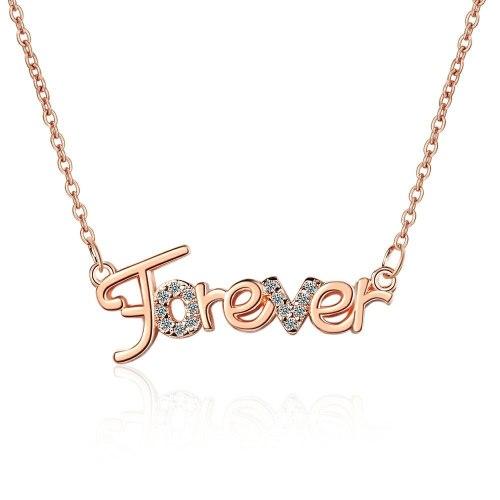 Creative Diamond Letter Necklace Fashionable Temperament New Clavicle Chain Female XZDZ547