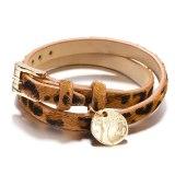 New European and American Fashion Leopard Bracelet Tree of Life Pendant Bracelet Ladies