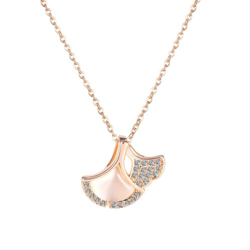 Ornament Summer New Product Creative Personality Skirt Copper Pendant Temperament Wild Women's Necklace 041