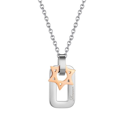 Ornament Summer New Hong Kong Style Special-Interest Design Elegant Simple All-Match Stainless Steel Women's Necklace 1982