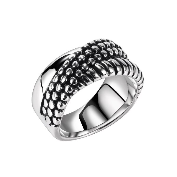 Ornament Fashion Men's Fashionable Stainless Steel Ring European and American Personalized Street Boys Ring Ornament Wholesale